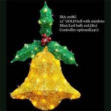 Decorative sisal Art & Craft sculptures with LED lights