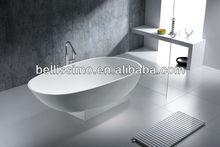 Angular sitting granite solid surface bathtub BS-8616