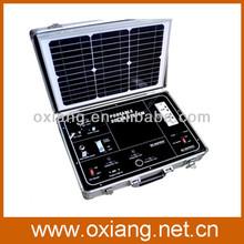 mini portable solar power supply systems 38w panel