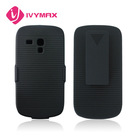 protective cover case for Samsung galaxy S3 mini clip hybrid case