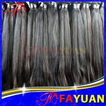 Fayuan 100% virgin human straight hair for black women Queen Hair Products 3pcs peruvian brazilian hair weave