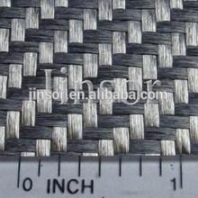 carbon like black fiberglass fabric