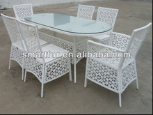 On sale patio wicker open weaving garden porch furniture set