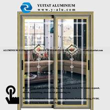 china glass door interior