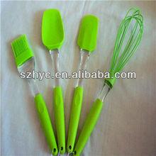 Newest kitchen designs tools silicon spatula set
