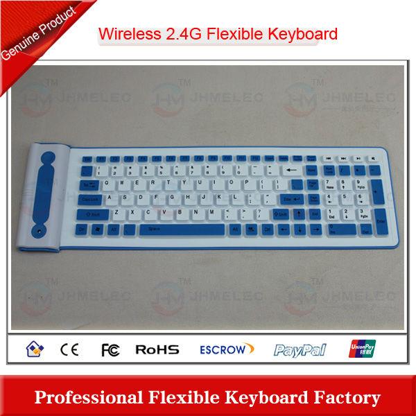 2.4G wireless multimedia keyboard