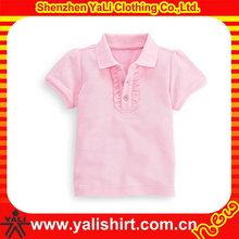Alta calidad de encargo de la colmena del collar polo de ropa para niños niñas
