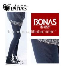 autumn winter bamboo fiber soft ninth pants/leggings
