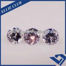 simulated diamond round 4.0mm CZ stone for wedding dressing