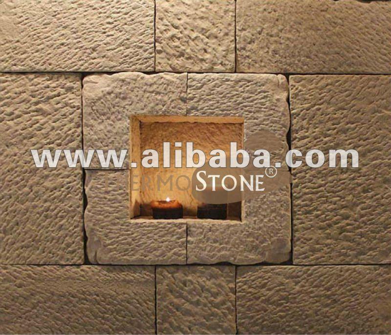 Piedra artificial decorativa para interiores y exteriores - Piedra artificial para interiores ...