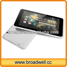 Android 4.2 Capacitive Screen 1080P Cortex A9 1.0GHz Rockchip 3026 tablet dual core 1gb ram
