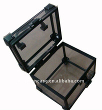 metal small acrylic makeup case made in China