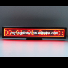 Hot selling products new electronic car notice led board