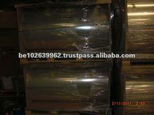 Unprinted Metalized Transparent Plastic BOPP Film Rolls