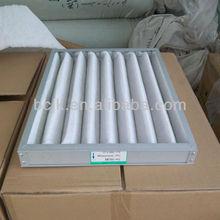 Aluminum frame air filter box/box type air filter in AHU(manufacture)