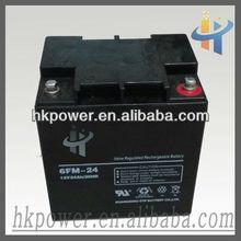 Hiking 12 volt AGM storage battery