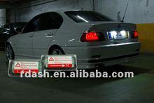 Led license plate lamp for BMW E46 98-04 sedan touring