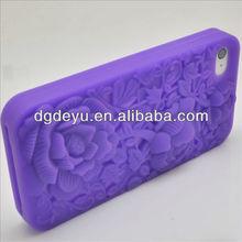 Silicone purple cases