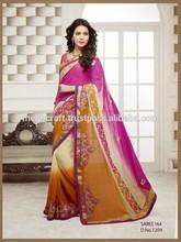 Wholesales Party wear saree-Bollywood style Indian saree / Sari / shari-Indian net saree