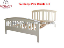 bedroom furniture pine wood latest modern double bed set
