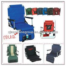 Portable Folding Stadium Chair, Heavy-duty stadium chair seat cushion