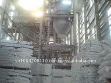 Superwhite coated powder calcium carbonate