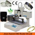 Sanwei mini portátil desktop 3030 de metal cnc máquina de gravura do anel