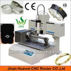 Sanwei mini portable desktop 3030 metal cnc ring engraving machine