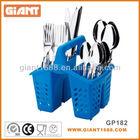 16pcs Heat Resistant Hard Plastic Cutlery Set