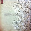 flor de fita de tecido bordado de renda