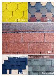 colorful asphalt roofing shingles manufacturer