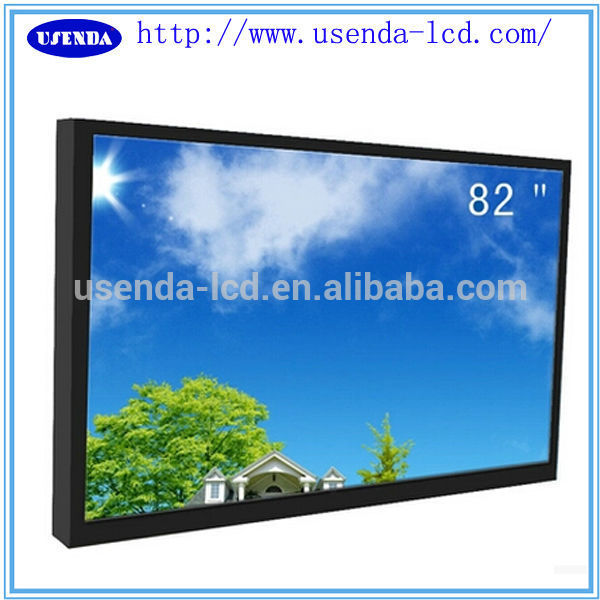 "70"" open frame BNC/VGA/HDMI monitor cctv monitoring systems with BNC Input"