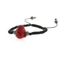 Gemstone Agate Buddha Shamballa Bracelet Jewelry, Silver Charm Macrame Bracelet Jewelry, Diamond Pave Bead Handmade Bracelet