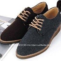 ssd01107 mans wool blend oxford sneakers