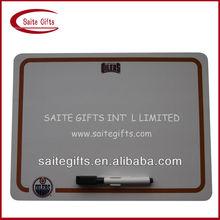 Customized Promotional offset printed fridge magnet writing board
