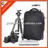 2013 new fashion trolley travel bag on wheel/camera trolley travel luggage bag