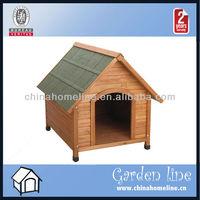 Modern Wooden Dog House HOU00008