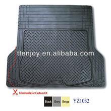 Trimmable vinyl boot 3D car matsYZ1032,Tailored Fit Boot Car Mats