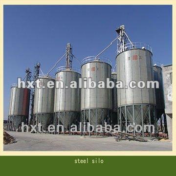 تخزين 800 طن نخالة القمح، النطاط أسفل الصومعة، صوامع الحبوب الصلب المجلفن الأسعار