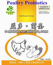 Sukawgain probiótico en polvo con 2 millones CFUg para alimentación de aves de corral aditivo