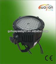 Guangzhou equipo de dj / 60 * 3 W RGBW LED a prueba de agua PAR dj iluminación