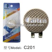 Promotional custom magnetic golf ball marker hat clip