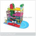 Garagem do brinquedo jogo definido, lavagem de carro& gás estação de jogo definido