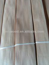 0.55mm sliced cut Chinese cherry types of wood veneer