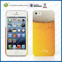 Cool summer beer design for iphone5 case