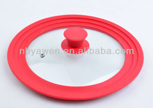 universal silicone pot lid