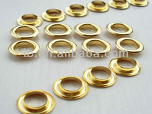 wholesale different size metal brass eyelets for garment accessories