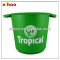 Plastic Ice Bucket With Handle