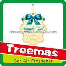 2015 Hanging paper air freshener/toilet auto air freshener Y122