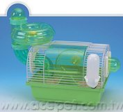737-A Metal with Plastic bottom multi running tunnel Mouse Dome Cage